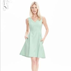 Banana Republic fit and flare dress